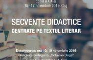 Simpozion 2019. SECVENȚE DIDACTICE CENTRATE PE TEXTUL LITERAR