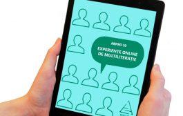 După un an. ANPRO 20. Experiențe on-line de multiliterație